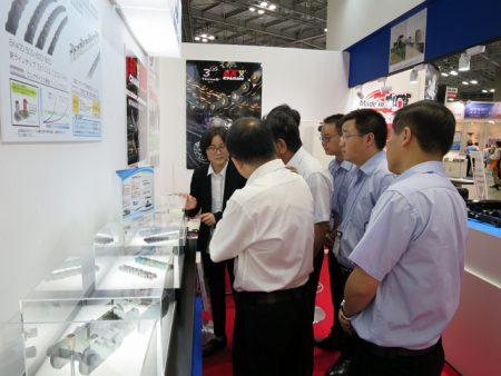 機械要素技術展 東華集団 展示会の様子